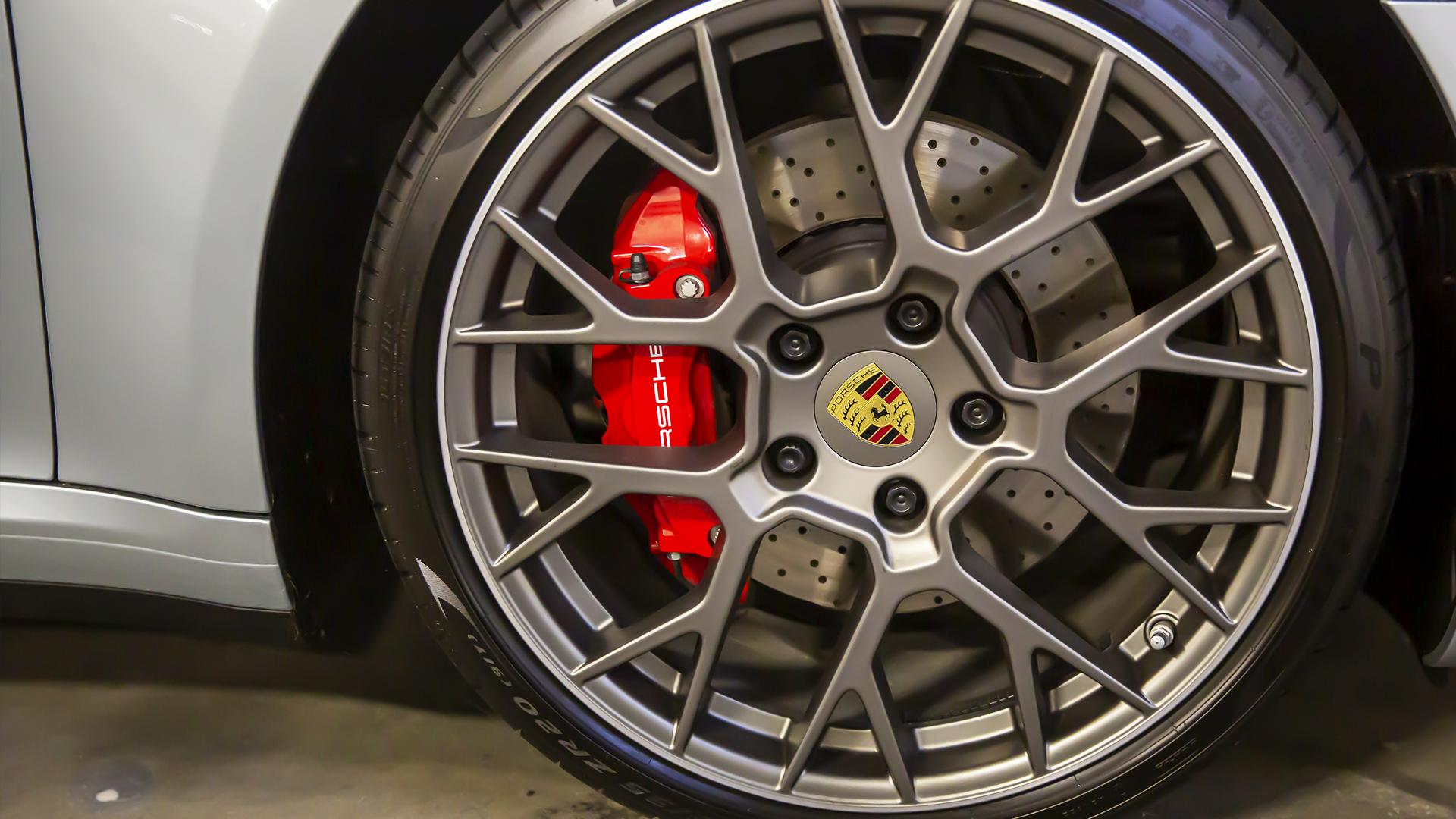 Billede Af Porsche Fælg